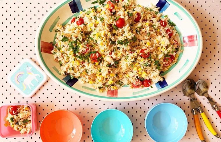 Easy tuna and rice salad recipe