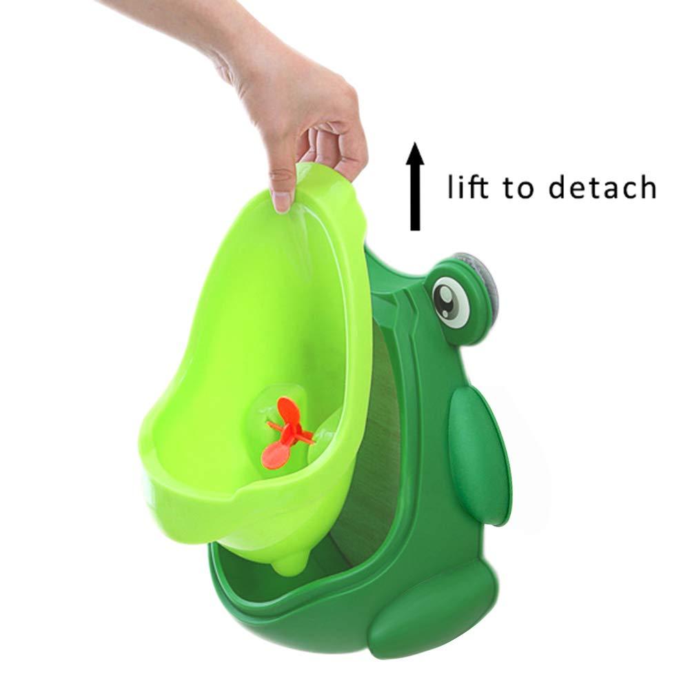 Frog urinal