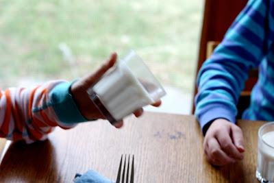 Blogger image: Gelatin milk