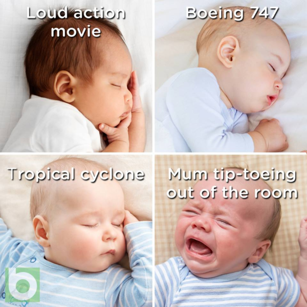 Things that wake a baby meme