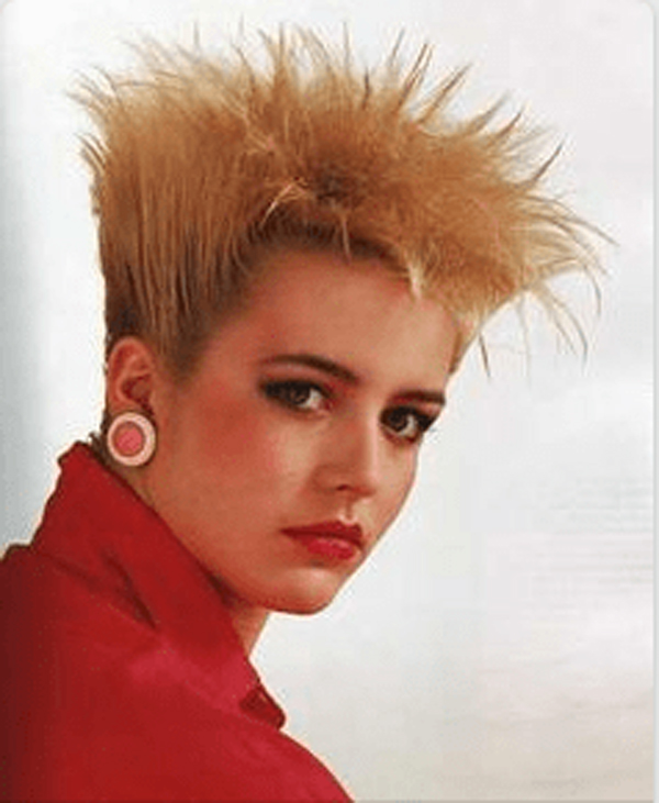 Hilarious 80s hairstyles - toaster