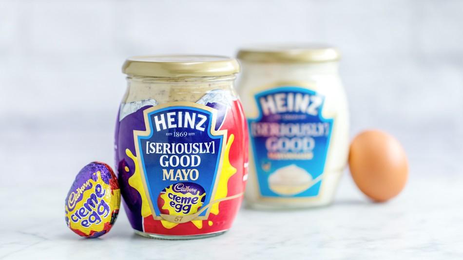 Cadbury Creme Egg mayo