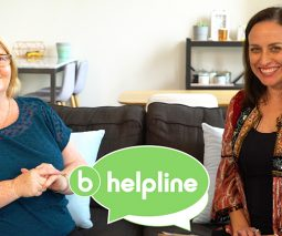 Chris Minogue and Shevonne Hunt Helpline presenters