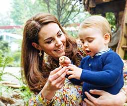 Duchess Kate and Prince Louis