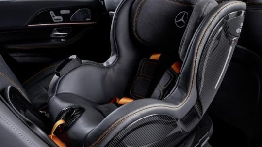 Mercedes Benz car seat