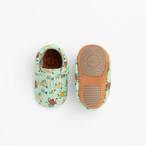 Lion King baby moccasins