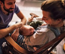 Surviving sleepless nights with a new baby