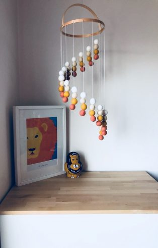 Colourful mobiles