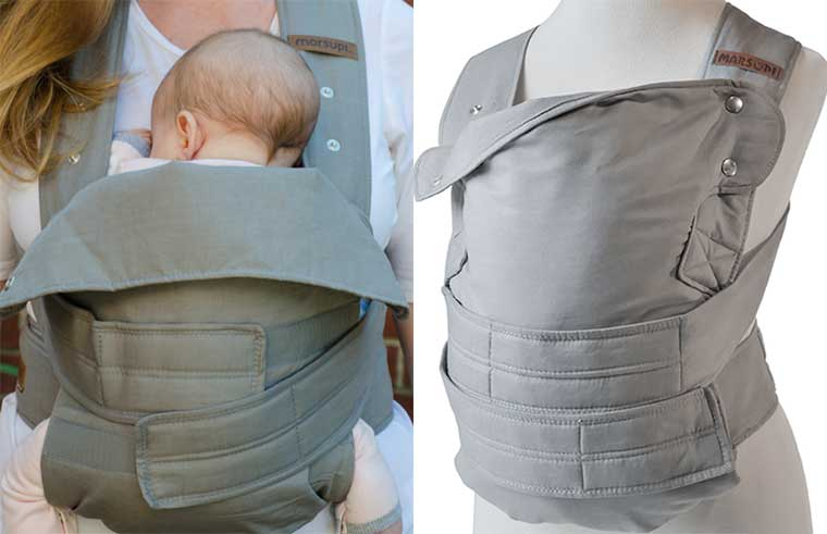 Marsupi Baby Carrier The Snugness Of A Wrap Without Any Of The Hassle