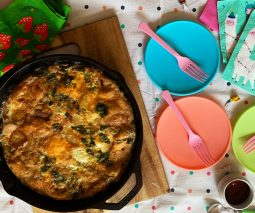 Potato and Basil Frittata