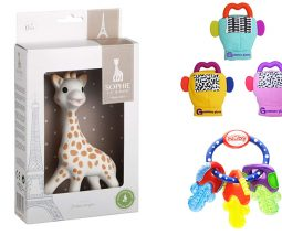 The best teethers and rattles for babies