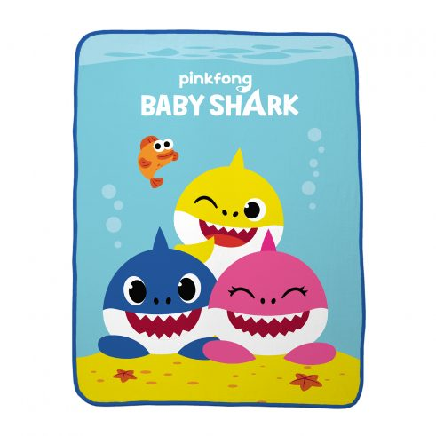 Baby Shark Plush Throw