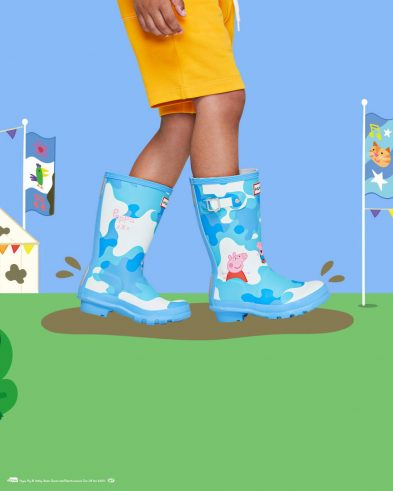 Hunter Boots X Peppa Pig