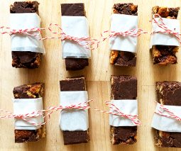 No Bake Butter Choc Snap Slice Recipe