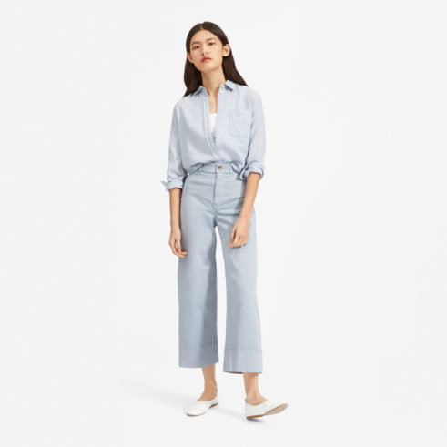 EVERLANE wide-legged pants