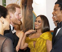 Meghan and Harry and beyonce and Jayz