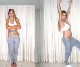 Woman documents pregnancy in 1000 pictures