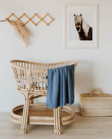 Snuggle Hunny Diamond Knit Baby Blanket