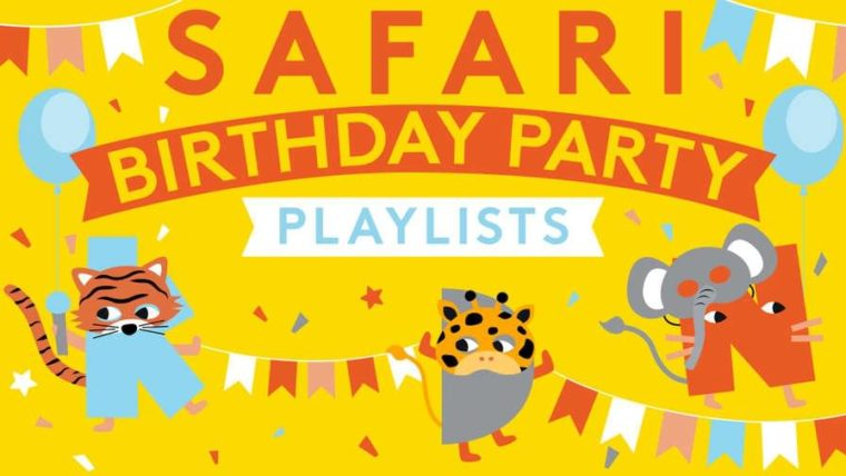 Safari Birthday Party playlist by Kinderling Kids Radio