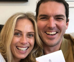 Sylvia Jeffreys and Peter Stefanovic are having a boy