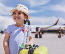 Child plane airport
