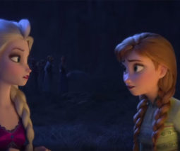 Scene from Frozen 2 trailer