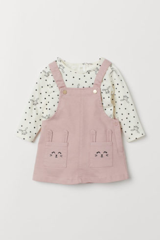 HandM Dungaree dress