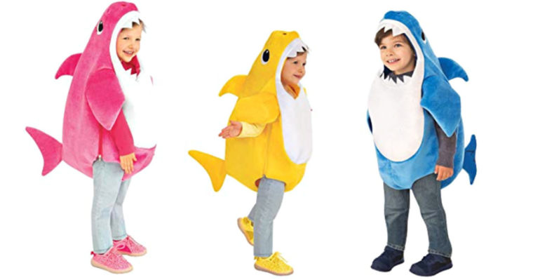 Kids shark costumes