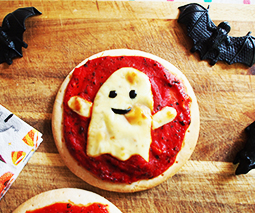 10 minute spooky pizza recipe