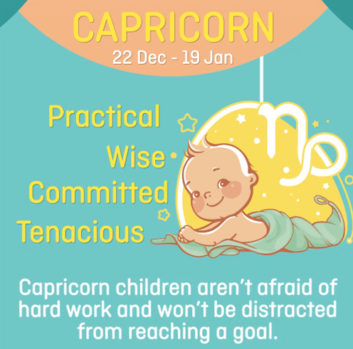 Baby zodiac - Capricorn