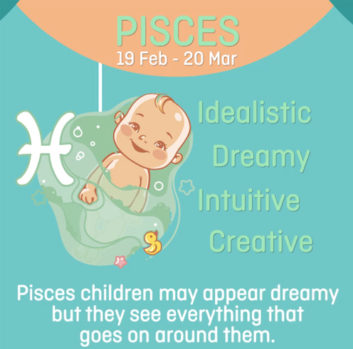 Baby zodiac - Pisces