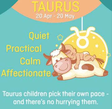 Baby zodiac - Taurus