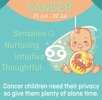 Baby zodiac - Cancer