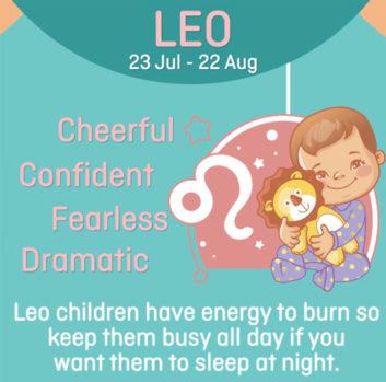 Baby zodiac - Lion