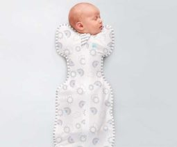 Love to Dream Rainbow swaddle