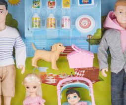 Kmart same-sex family doll sets