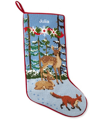 LL Bean Christmas Stocking