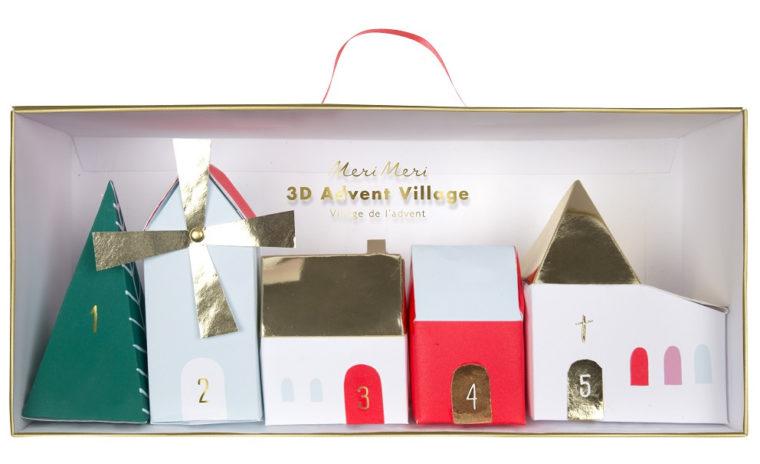 Meri Meri Village Advent Calendar