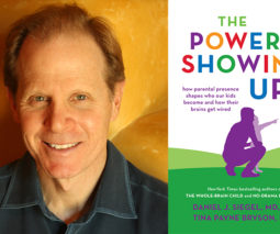 Dr Dan Siegel and his latest book The Power of Showing Up