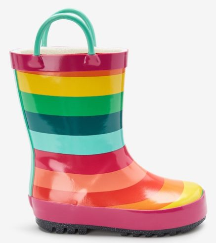 NEXT rainbow wellies
