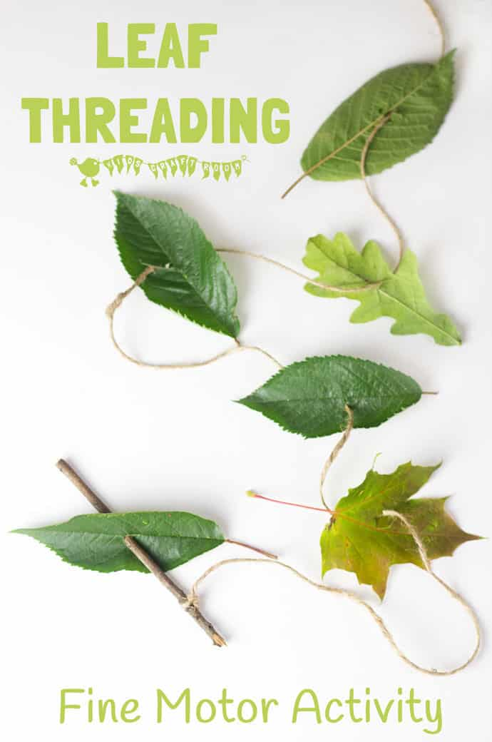 Leaf Threading activity