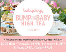 Bump and Baby event footer