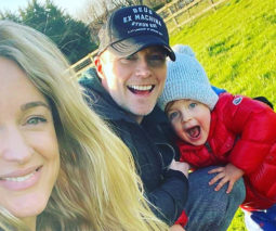 Ronan Keating with wife Storm and son Cooper feature