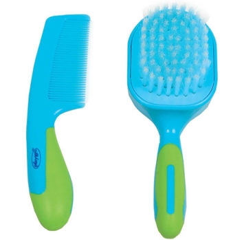 Baby comb and brush set - BIG W