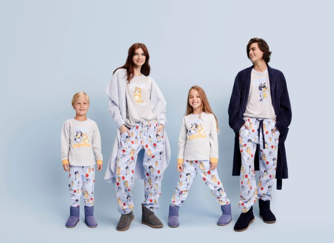 Bluey / Peter Alexander pyjamas - family set