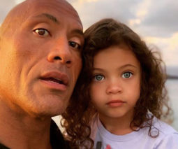 Dwayne The Rock Johnson with daughter Jasmine