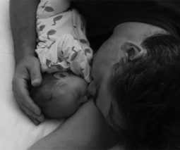 Wippa and baby Francesca - feature