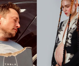 elon musk and grimes announce baby
