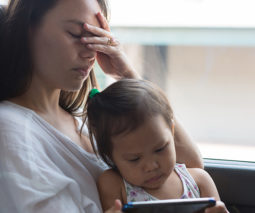 isolation makes parents stressed