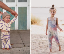 Tie-dye clothing for kids